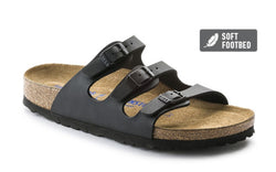 Florida - Black (Soft footbed)
