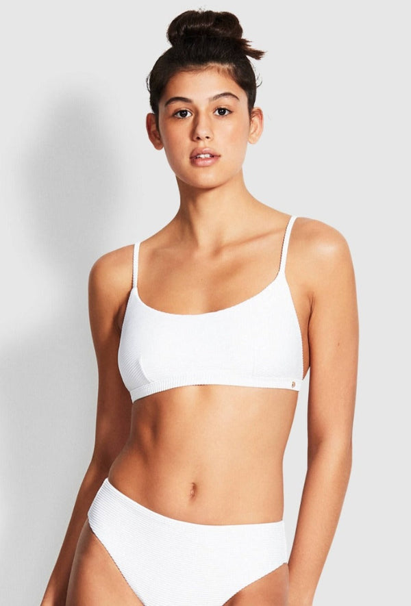 Essentials Bralette - White