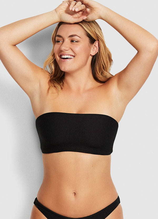 Essentials tube top-black