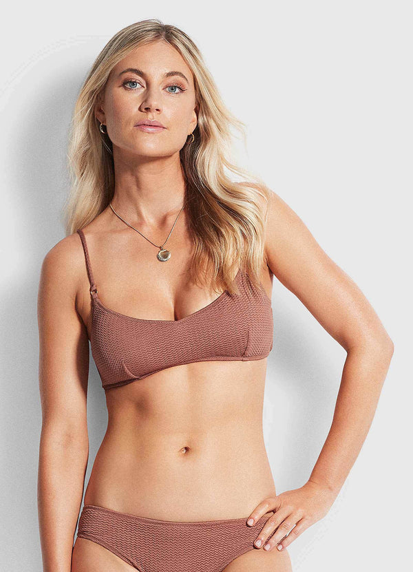 Sea Dive Bralette- Bronze