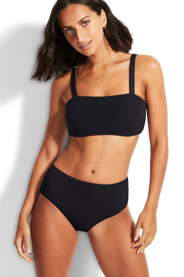 sea dive DD bandeau bra black