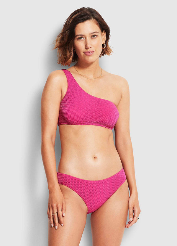 sea dive Hipster pant- fuchsia rose