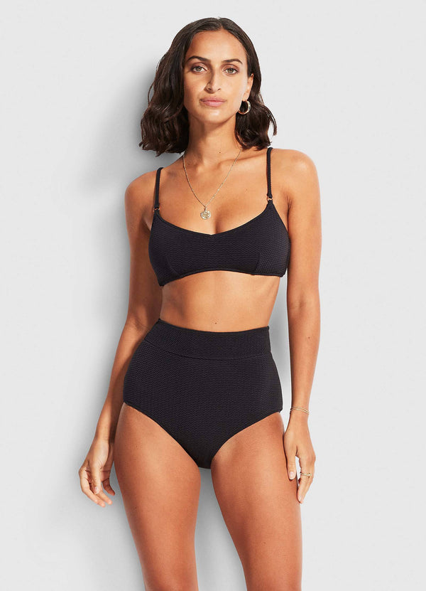Sea Dive Bralette - black