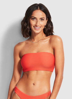 Seafolly Sugar Coral Essentials Tube Top