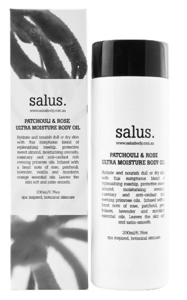 Salus Patchouli & Rose Ultra Moisture Body Oil - Idaho Boutique