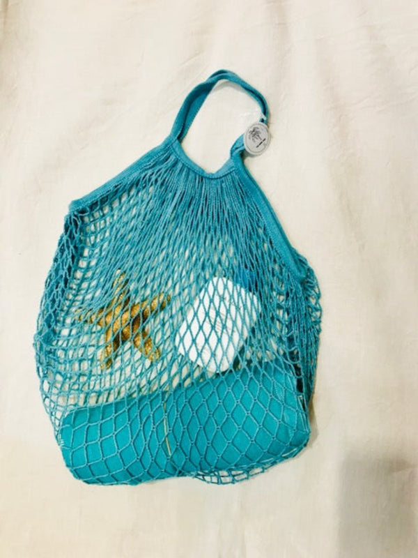 One Palm Tree Net Shopping Bag $7.95 - Idaho Boutique