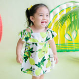 Clivia Dress in Very Lemon