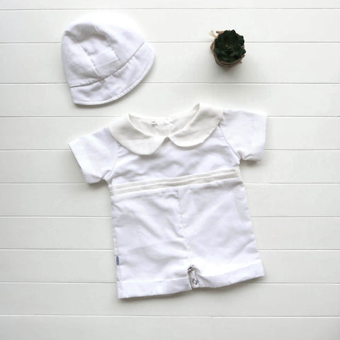 Boys Christening Set - Playsuit