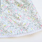 Iris Dress in Mini Garden Pastels Print