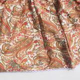 Iris Dress in Orange Paisley-Lil' Tati