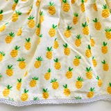 Iris Dress in Sweet Pineapple Print