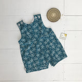Oak Playsuit in Bluegreen Stars-Lil' Tati
