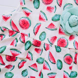 Orchid Playsuit in Mini Watermelon Print