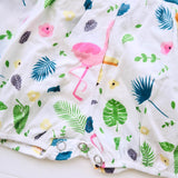 Orchid Playsuit in Tropical Feast Print