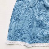 Peony Dress in Blue Floral Sketch-Lil' Tati