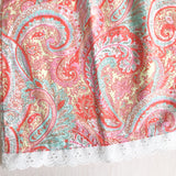 Peony Dress in Blue and Pink Paisley Print-Lil' Tati