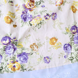 Peony Dress in Violet Mustard Flowers Print-Lil' Tati