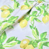 Iris Dress in Fresh Lemon Print-Lil' Tati