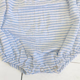 Lily Playsuit in Placid Blue Stripes - Lil' Tati