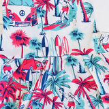 Orchid Playsuit in Beach Dude Print-Lil' Tati