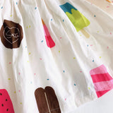 Suntan Dress in Popsicle Party Print - Lil' Tati