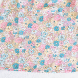 Tea Rose Dress in Mint Light Florets Print - Lil' Tati