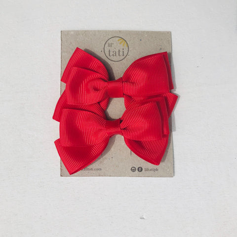 Tribow Hair Clips - Lil' Tati