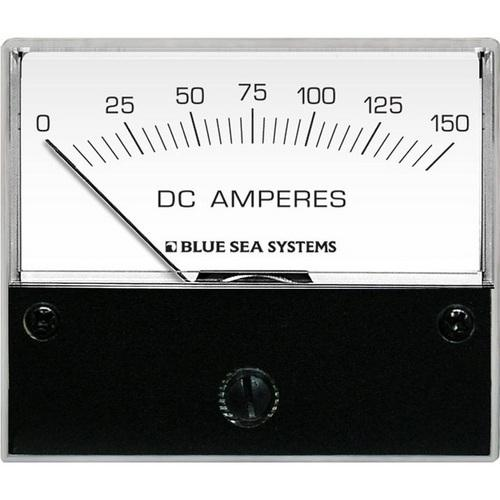 "Blue Sea 8018 DC Analog Ammeter - 2-3/4"" Face 0-150 Amperes DC"