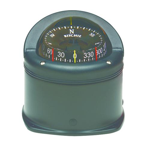 Ritchie HD-745 Helmsman Compass - Deck Mount - Black