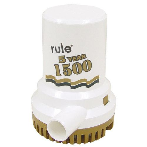 "Rule 1500 GPH ""Gold Series"" Bilge Pump"