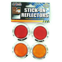Stick-On Reflectors Set ( Case of 72 )