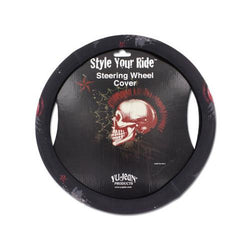 Mohawk skull steering wheel cover ( Case of 40 )