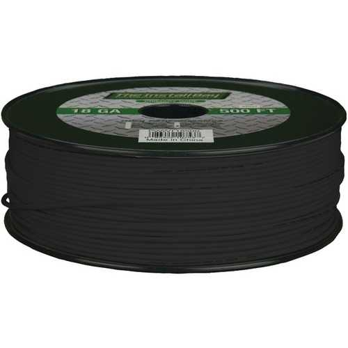 Install Bay PWBK18500 18-Gauge Primary Wire, 500ft (Black)