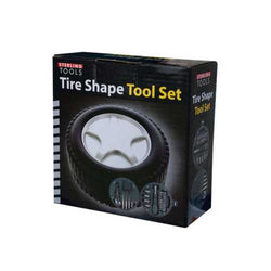 Tire Shape Tool Set ( Case of 8 )