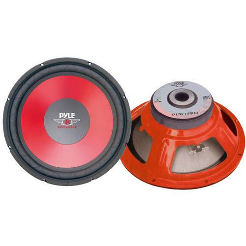 "15"" Red Cone High Performance Woofer"