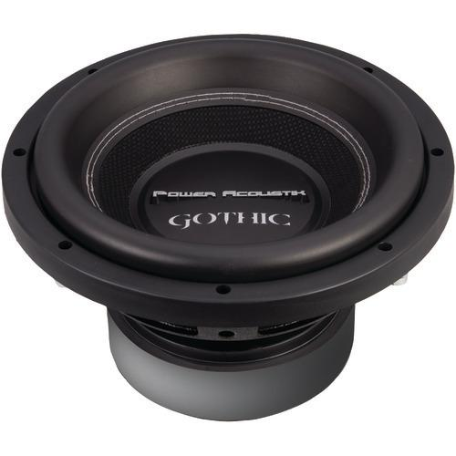 "Power Acoustik Gothic Series 2ohm Dual Voice-coil Subwoofer (10"", 2,200 Watts) (pack of 1 Ea)"