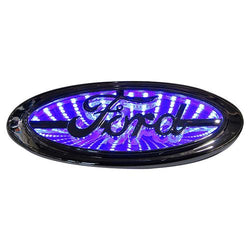 Street Vision Ford 3D Logo Badge--Blue