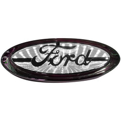 Street Vision Ford 3D Logo Badge--White