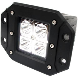 Street Vision Flush Mount 12Watt 4 LED Hi Power LED Spot Light 2x2