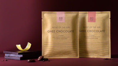 Ghee Chocolate, Night of the Sun, Ayurvedic, Ghee, Cacao, Organic Chocolate, Organic Ghee Chocolate, Ghee Cacao, ghee chocolate, organic ghee chocolate, night of the sun ghee chocolate, ghee and cacao chocolate, organic ghee chocolate, night of the sun, a
