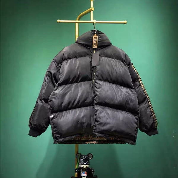 Double F Reversible Puffer Jacket