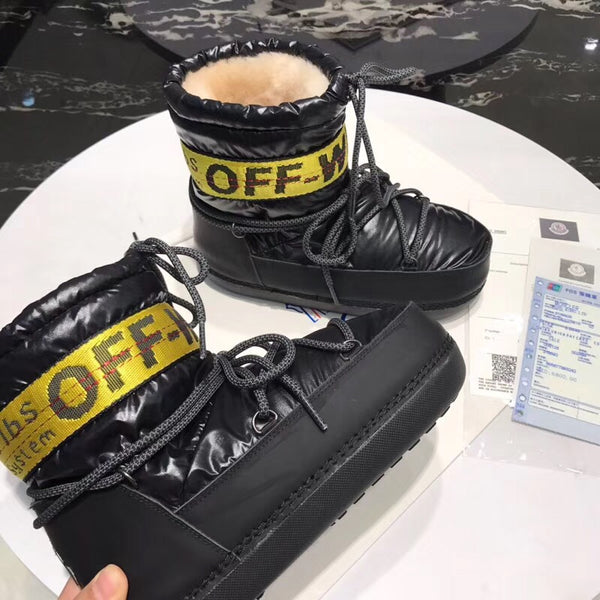 MonKha'ler Off Whyte Boots