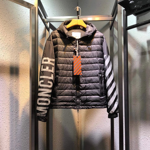 MonKha'ler Off Whyte Puffer Jacket