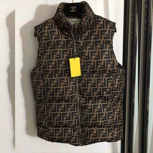 Double F Puffer Vest