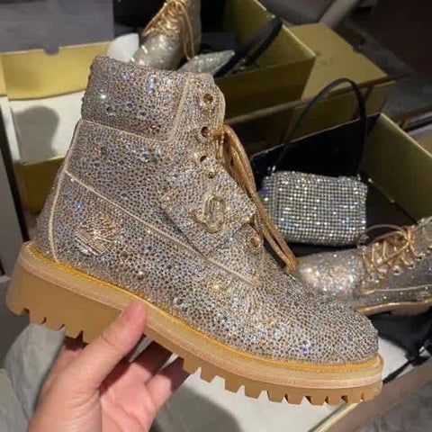 Jimmy Kha'oo Crystal Timbs