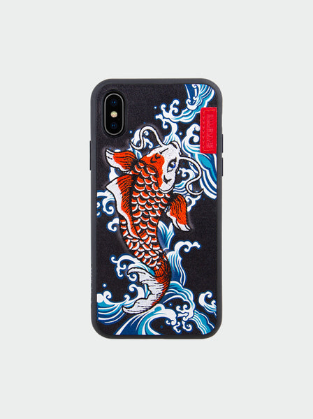 IREZUMI SHOWA BLUE, IPHONE XS/XS MAX