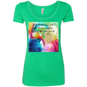 Multi Colored Muse Ladies Tee