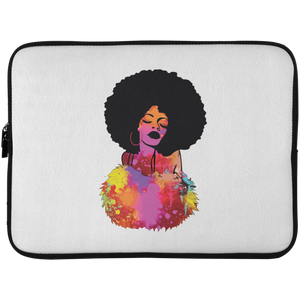 Beautiful Afro Lady Laptop Sleeve - 15 Inch