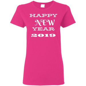HAPPY NEW YEAR LADIES T-SHIRT