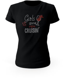 Girls Gone Cruisin' Rhinestone Tee